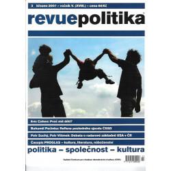 Měsíčník Revue Politika (13...