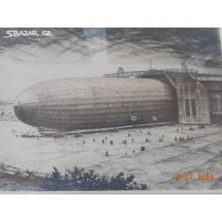 Graf Zeppelin před startem...