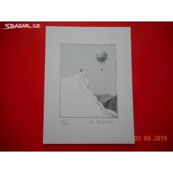 Petr Ptáček - litografie...