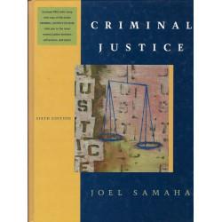 Criminal justice - Joel...