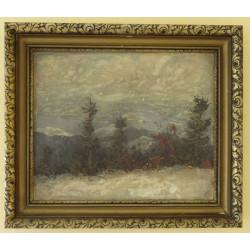 Zimní hory, autor neznámý