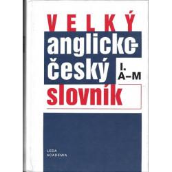 Velký anglicko-český...