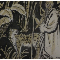 Tygr a mistr - autor neznámý