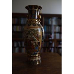 Ručně malovaná čínská váza,...