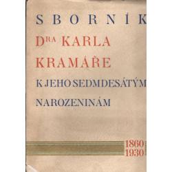 Sborník Dra Karla Kramáře k...