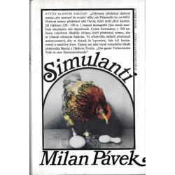 Simulanti - Milan Pávek