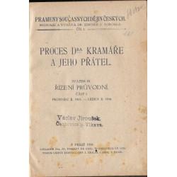 Proces Dr. Kramáře a jeho...