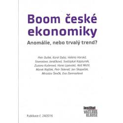 sborník textů: Boom české...