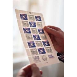 Poštovní známky s přítiskem...